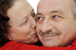Older couple - still in love!